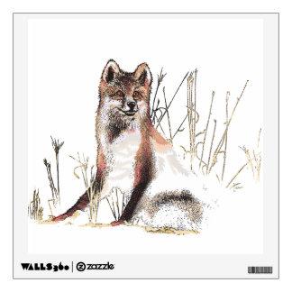 Winter Wolf Room Stickers
