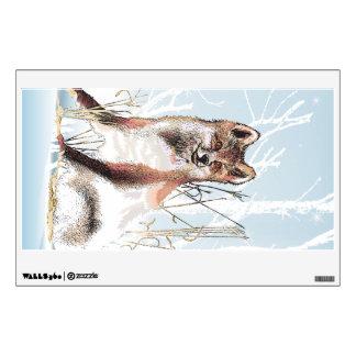 Winter Wolf Wall Skins