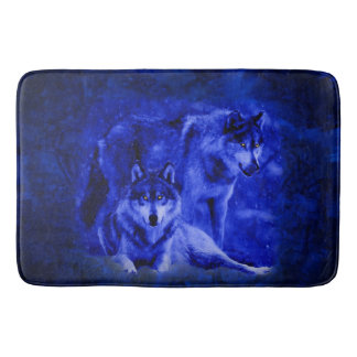 Winter Wolves Bathmat / Rug