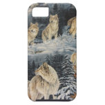 Winter Wolves iPhone 5 Case
