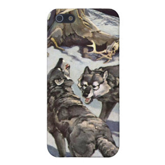 Winter Wolves iPhone Case iPhone 5 Cases