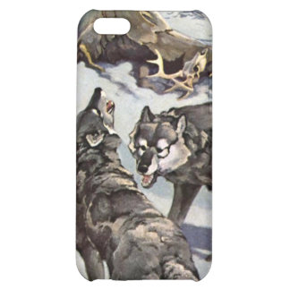 Winter Wolves iPhone Case iPhone 5C Cases