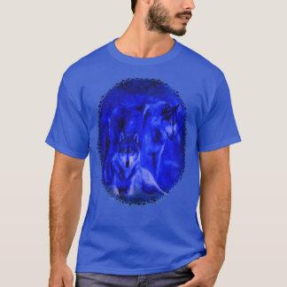 Winter Wolves Wolf Dark T-shirts