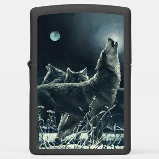 Winter Wolves ZIPPO Pocket Lighter