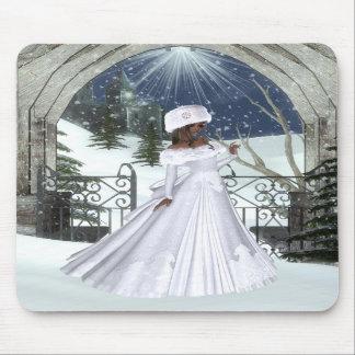 Winter Woman D3 Design - Fantasy Mousepad