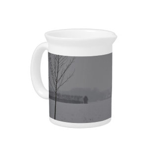 Winter wonder country beverage pitcher