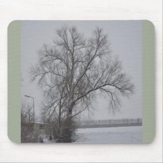 Winter wonder country mouse pad