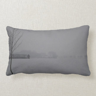 Winter wonder country throw pillow