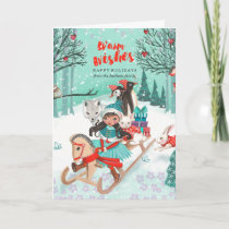 Winter Wonder Woodland Forest | Greetings Cards