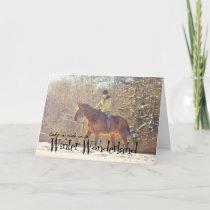 WINTER WONDERLAND 5x7 GREETING CARD
