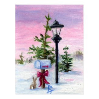 Winter Wonderland aceo Postcard