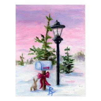 Winter Wonderland aceo Postcard