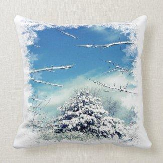 Winter Wonderland throwpillow