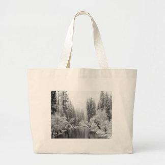 Winter Wonderland Canvas Bags