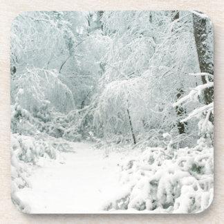 Winter Wonderland Beverage Coaster