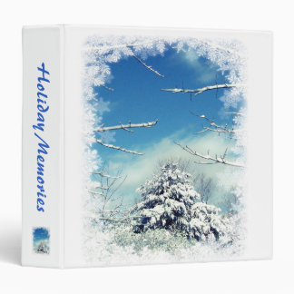 Winter Wonderland 3 Ring Binder