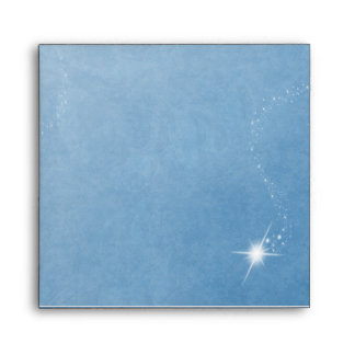 Winter Wonderland Blue Envelope