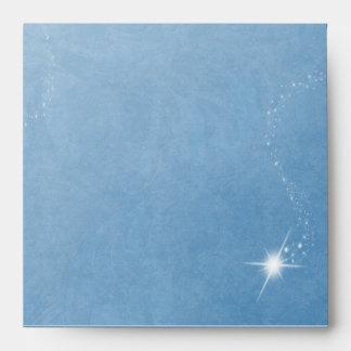 Winter Wonderland Blue Envelope