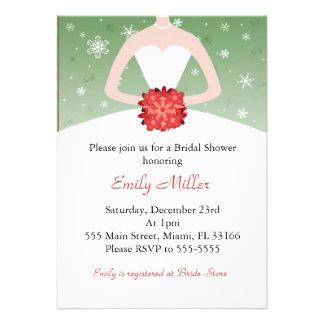 Winter Wonderland Bridal Shower invitation