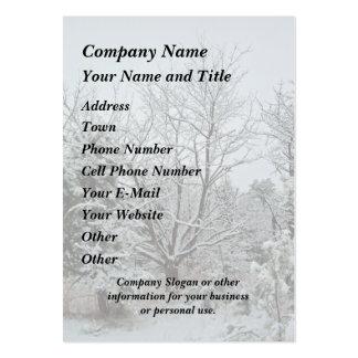 Winter Wonderland Business Card Template
