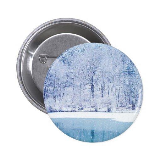 Winter Wonderland Pin