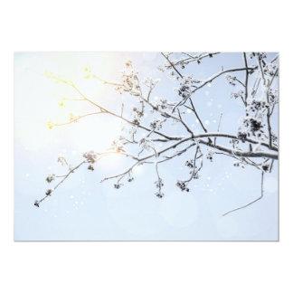 Winter Wonderland by Uname_ 5x7 Paper Invitation Card