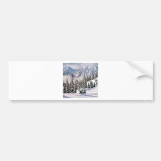 Winter Wonderland Canada Bumper Sticker