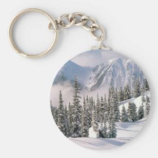 Winter Wonderland Canada Key Chains