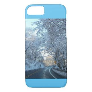 winter wonderland cell phone case