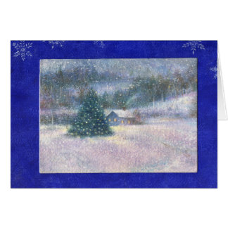 WINTER WONDERLAND  CHRISTMAS GREETINGS GREETING CARD