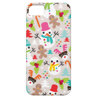 Winter wonderland christmas illustration iphone cover for iPhone 5/5S