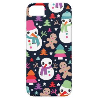 Winter wonderland christmas illustration iphone iPhone 5 case