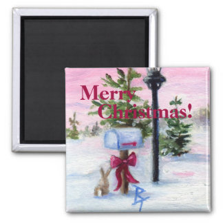 Winter Wonderland Christmas! Magnet