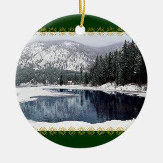 Winter Wonderland Christmas Ornament