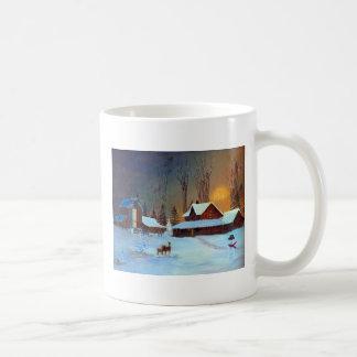 Winter Wonderland Classic White Coffee Mug
