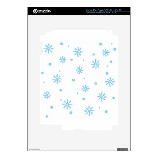 Winter wonderland decal for iPad 3