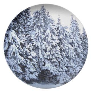 Winter Wonderland Dinner Plate