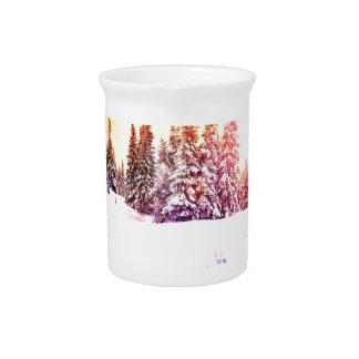 Winter wonderland dream art by healing love drink pitchers