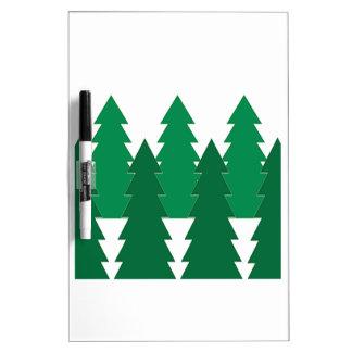 Winter Wonderland Dry-Erase Board