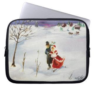 Winter Wonderland Electronics Bag