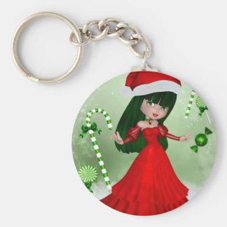 Winter Wonderland Fairy Keychain