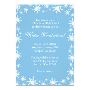 Winter Formal Dance Invitations Announcements Zazzle