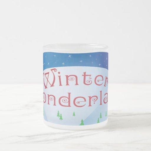 Winter Wonderland Frosted Mug!