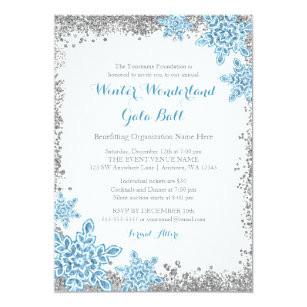 winter ball invitations zazzle
