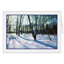 'Winter Wonderland' Holiday Card - Blank