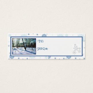 'Winter Wonderland' Holiday Gift Tag