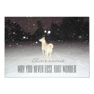 Winter Wonderland Holiday Greeting Card