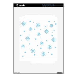 Winter wonderland iPad 2 decals