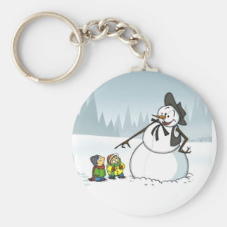 Winter Wonderland Keychain