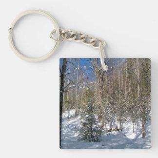 Winter Wonderland Acrylic Keychains